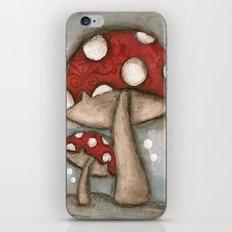 Mushrooms - by Diane Duda iPhone & iPod Skin