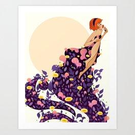 VESNA OF SPRING Art Print