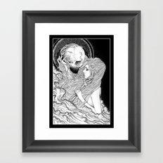 Unlove. Framed Art Print