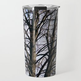 Stained Glass Tree Travel Mug
