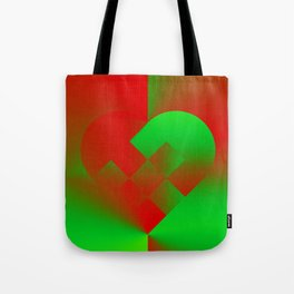 Danish Heart Holidays #21 Tote Bag