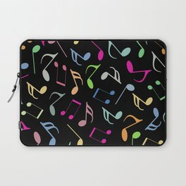 Music Colorful Notes II Laptop Sleeve