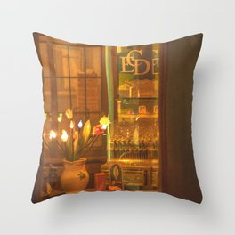 Days Gone By. Throw Pillow
