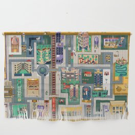 Map of life Wall Hanging