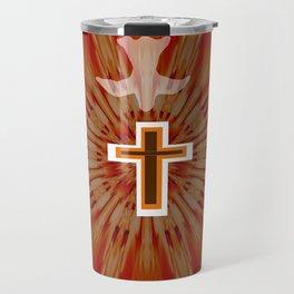 The Holy Spirit By Saribelle Rodriguez Travel Mug