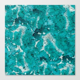 Blue depths Canvas Print