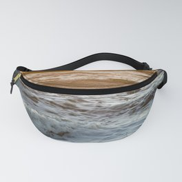 Coral Ocean Sunset Fanny Pack