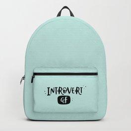 Introvert AF Backpack