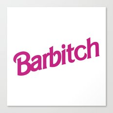 Barbitch Logo Canvas Print