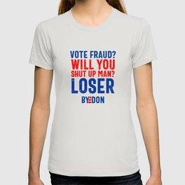 Funny Politics USA Byedon T-shirt