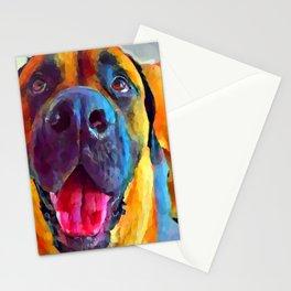 English Mastiff Stationery Cards