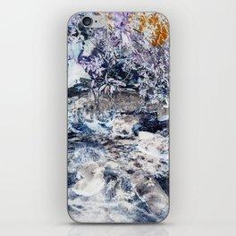 Cinder Leaves iPhone Skin
