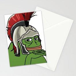 Groyper Roman Legionnaire frog kekistan PepeTheFrog Stationery Cards