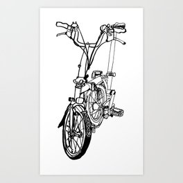 Brompton Art Print
