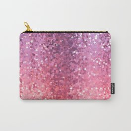 Squarely in the Realm of Glitter Carry-All Pouch