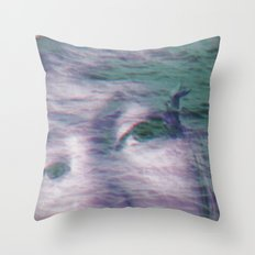 Kingdom of the little seagull Throw Pillow