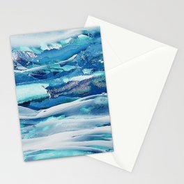 Ice Field Stationery Cards