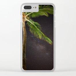 Maui Night Sky Clear iPhone Case