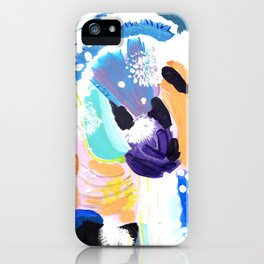Abstract Happyness iPhone Case