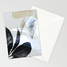 Moody Leaves II Stationery Cards