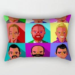 Year of the Block Rectangular Pillow