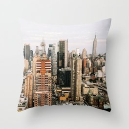 My Empire - NYC Throw Pillow