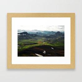 þórsmörk I Framed Art Print