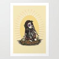 La Flaca Art Print