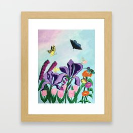 Garden of Heavenly Delight Framed Art Print