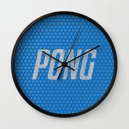PONG! Wall Clock