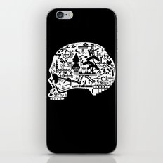 Icon Skull iPhone & iPod Skin
