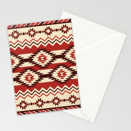 American Native Pattern No. 166 Stationery Cards