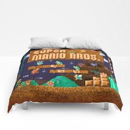 Mario Super Bros Comforters