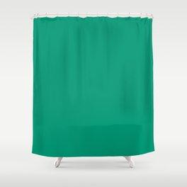 Emerald Green Shower Curtain