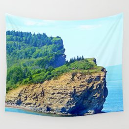 Cliffs of Perce Wall Tapestry