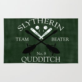 Slytherin Team Beater Rug