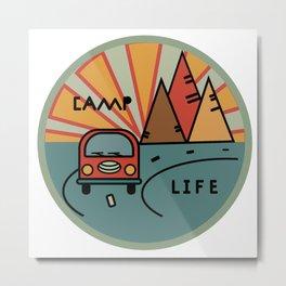 Camp life Metal Print