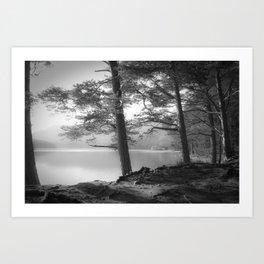 Loch an Eilein Art Print