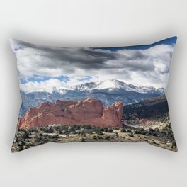Pikes Peak - Colorado Springs Rectangular Pillow