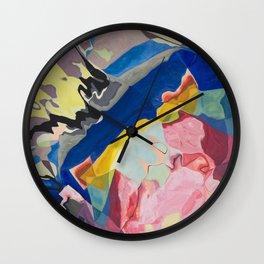 Color Milkshake Wall Clock