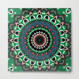 Emerald Jive Metal Print