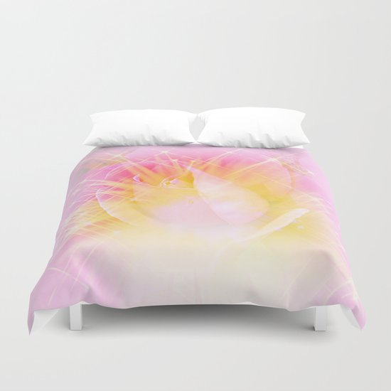 Starlight Burst Duvet Cover