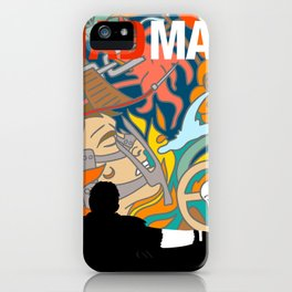Max The Mad Man iPhone Case