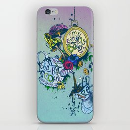 Alice in Wonderland - I'm entirely bonkers  iPhone Skin