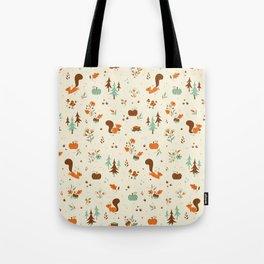 Squirrel Friends Tote Bag