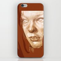 fifth element iPhone & iPod Skins featuring The Fifth Element by Doruktan Turan