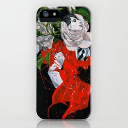 Rose boy - ANALOG zine iPhone Case