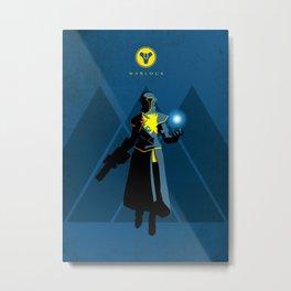 030 Warlock D2 Metal Print