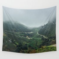 europe Wall Tapestries featuring Peaks of Europe 2 by Svetlana Korneliuk