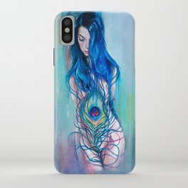 Peafowl Flow iPhone Case